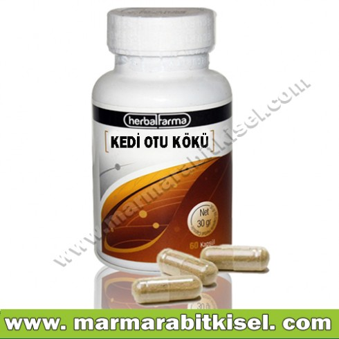 Herbal Farma Kedi Otu 60 kapsül