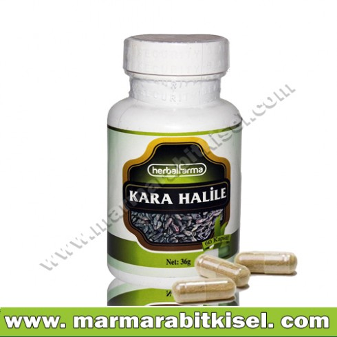 Herbal Farma Kara Halile 60 kapsül
