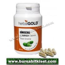 HerbalGold Ginseng Ekstrakt 60 Kapsül